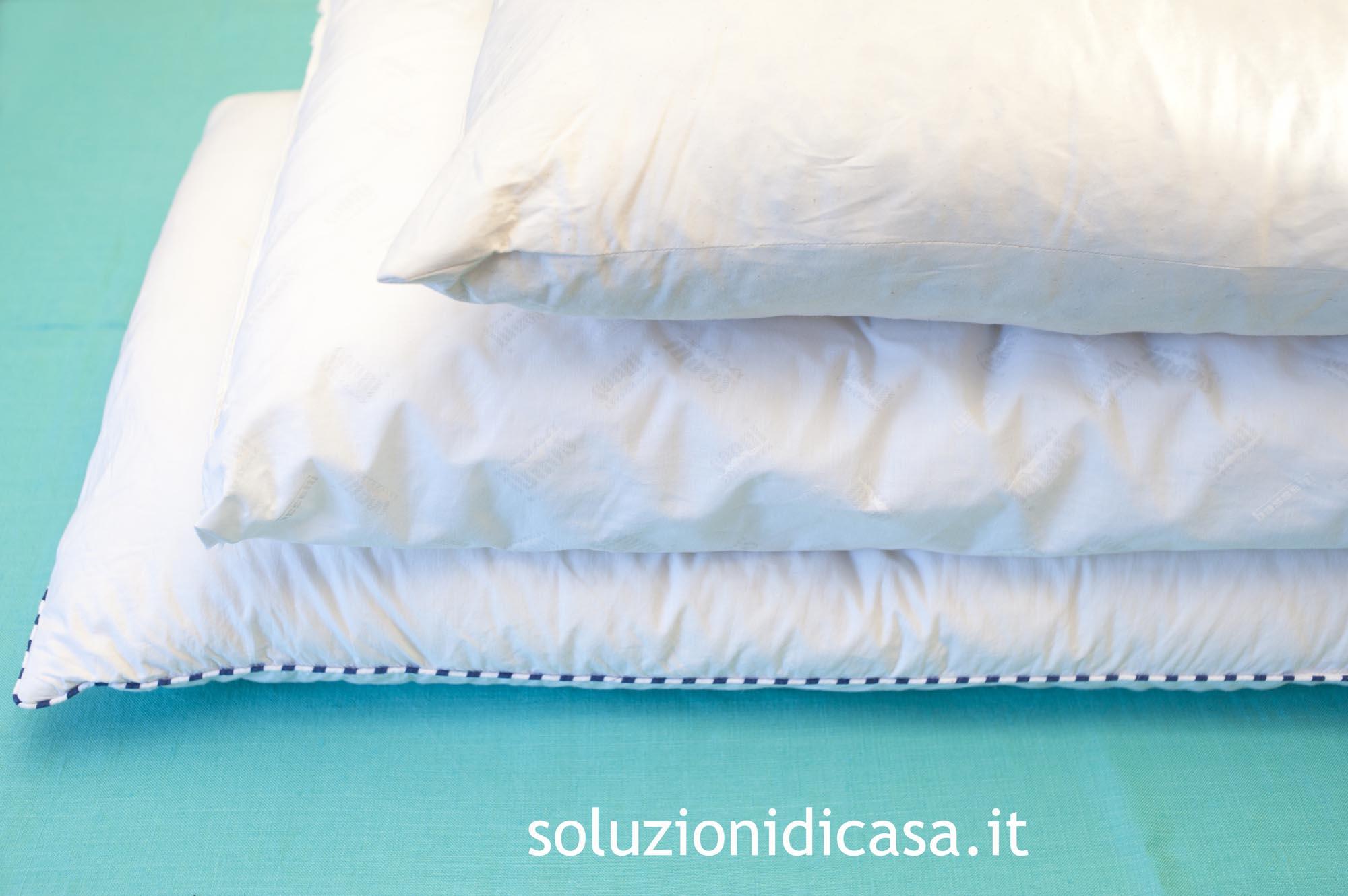 Come lavare i cuscini - Soluzioni di Casa
