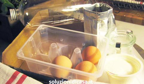 Come riutilizzare i contenitori