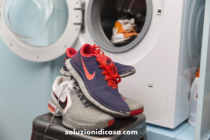pulizia scarpe scamosciate nike