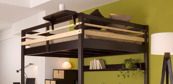 Come recuperare spazio con il letto a soppalco