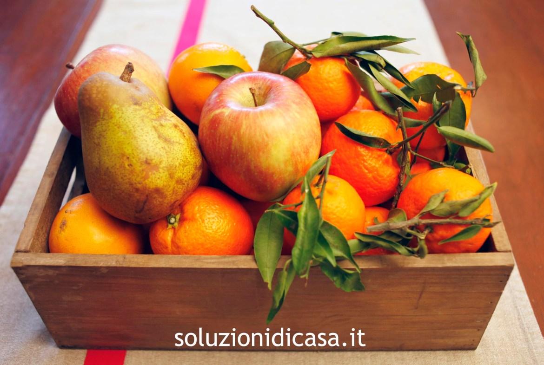 Come preparare una miscela per disinfettare la frutta
