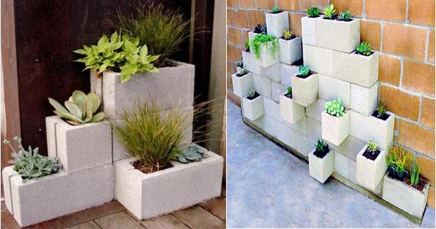 Mattoni Forati Per Recinzioni Giardino.Come Costruire Una Parete Verde Soluzioni Di Casa
