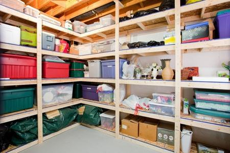 Organizzare la cantina come fare soluzioni di casa - Riordinare casa ...