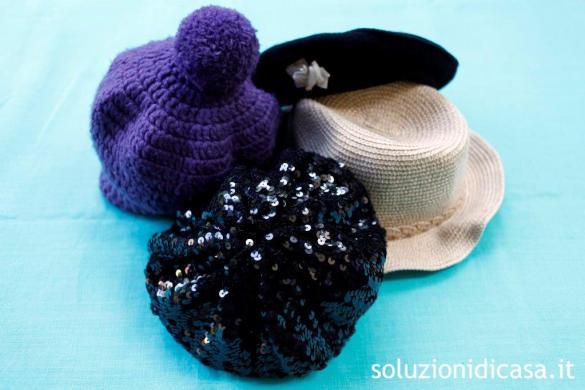 come pulire i cappelli