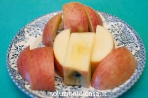 come tagliare la mela