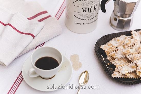 macchia di caffè