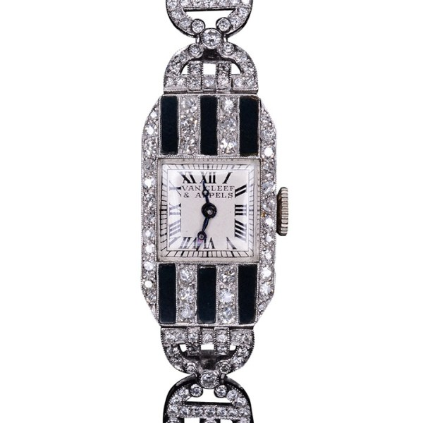Swiss Ladies Wrist Watch by Van Cleef & Arpels