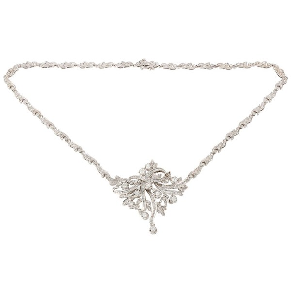5.29 CTW Diamond Necklace