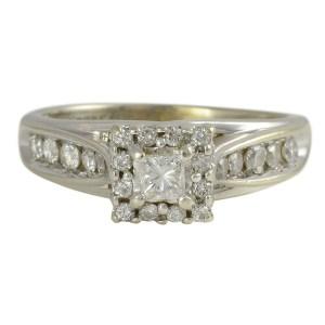 0.85 Carat Total Weight Diamond Ring