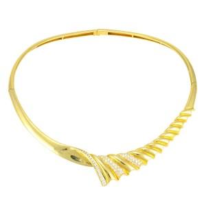 2.14 Carat Total Weight Diamond Collar Necklace