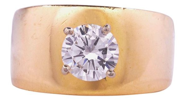 1.03 Carat SI1 Diamond Solitaire Ring
