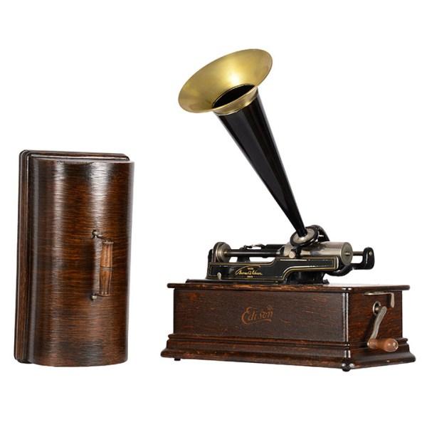 Edison Home Oak Phonograph