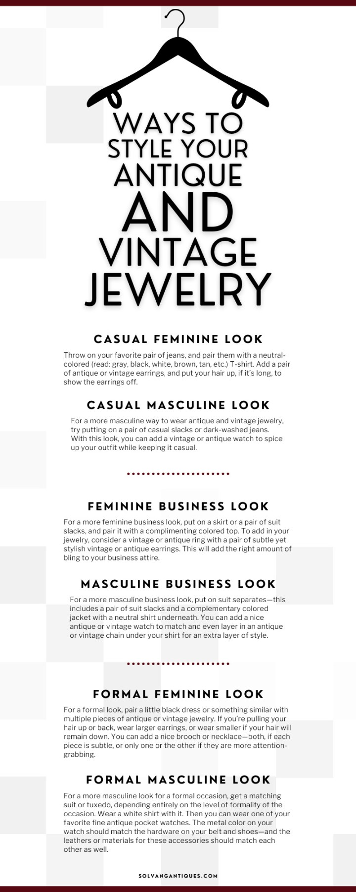 Style Your Antique and Vintage Jewelry