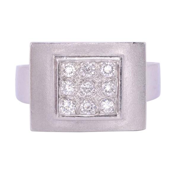 Stuart Moore diamond ring