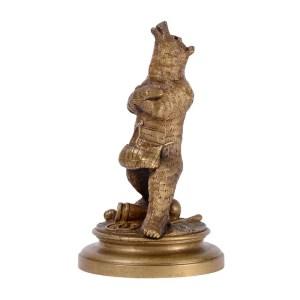 Circus Bear Bronze