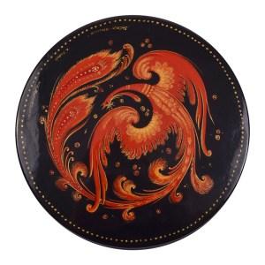 phoenix lacquer box