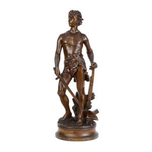 Gaudez Farmer Warrior Bronze