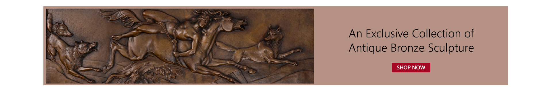 An Exclusive Collection of Antique Bronze Sculpture
