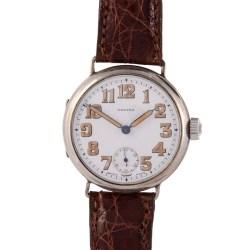 Regina Radium Numeral Sterling Silver Wrist Watch