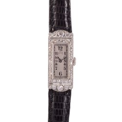 Audemars Piguet Platinum and Diamond Ladies Wrist Watch