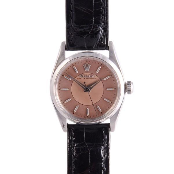 rose dial Rolex