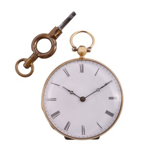 ladies 18K pocket watch