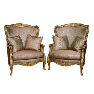 EJ Victor Co Pair Arm Chairs