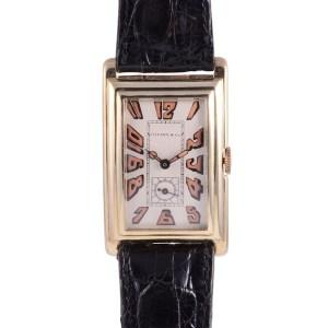 Longines Tiffany Art Deco wrist watch