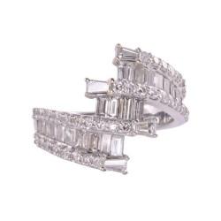 14KW Gold 2.3 CTW Diamond Ring