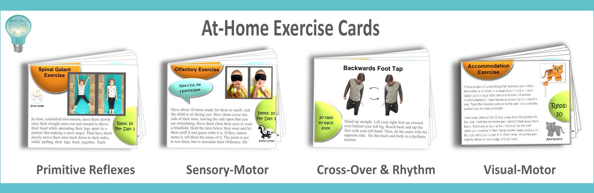 photograph relating to Printable Exercise Cards titled The Combo Pack for Mothers and fathers