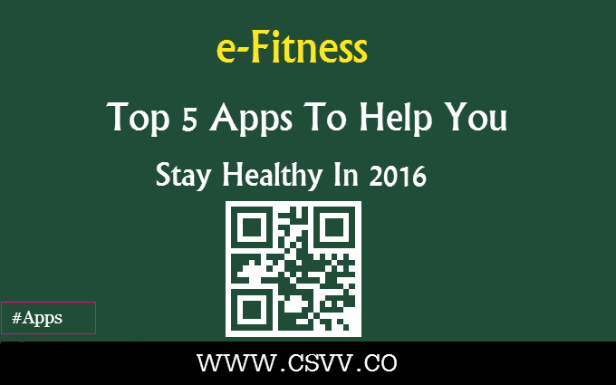 e-Fitness: Top 5 Apps To Help You Stay Healthy In 2016