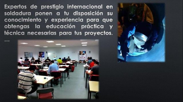 Escuela soldadura para ingenieros, inspectores, coordinadores y soldadores