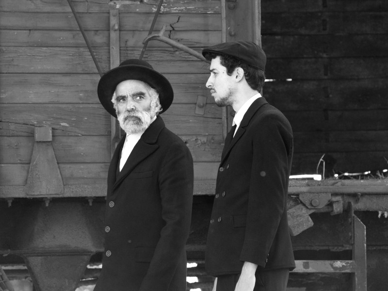 Hermann Sámuel (Iván Angelus) and his son (Marcell Nagy) arrive via train to a small village in Hungary full of secrets.