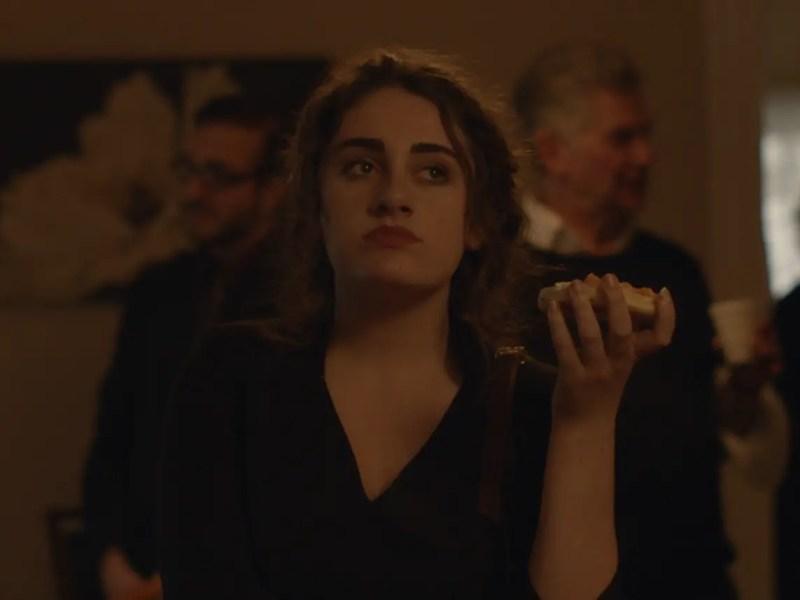 Rachel Sennott as Danielle in SHIVA BABY.