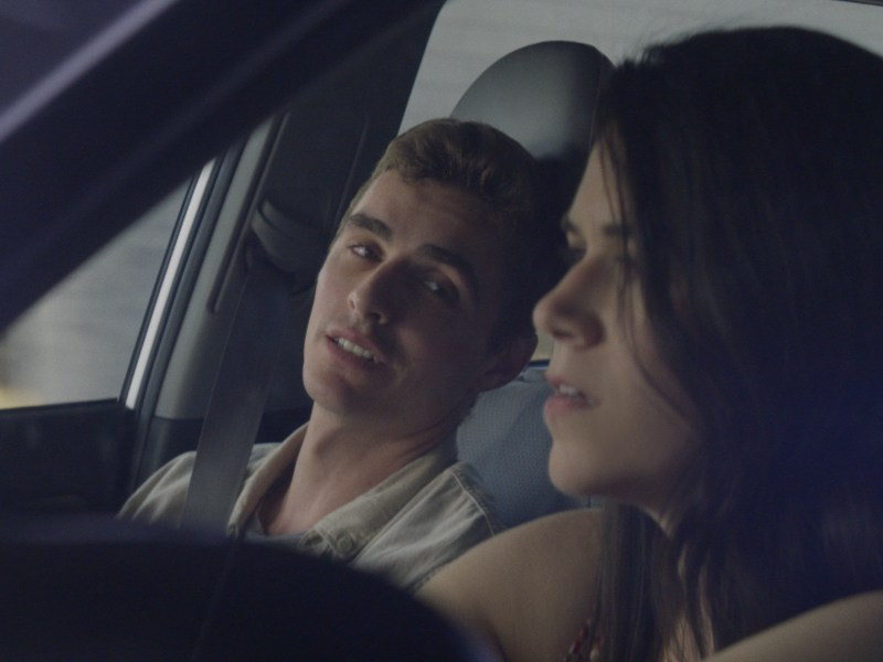 Dave Franco and Abbi Jacobson in 6 Balloons.