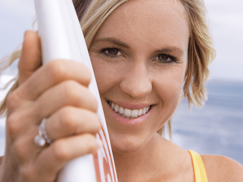 Bethany Hamilton in Bali, Indonesia, from Bethany Hamilton: Unstoppable.