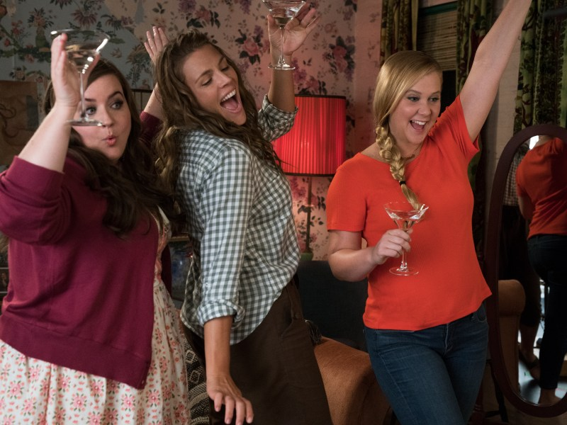Aidy Bryant, Busy Philipps, and Amy Schumer star in I FEEL PRETTY.