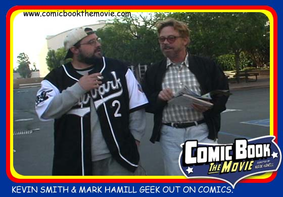 Kevin Smith and Mark Hamill in Comic Book: The Movie.