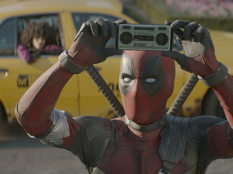 Ryan Reynolds stars as Deadpool in Twentieth Century Fox's DEADPOOL 2.
