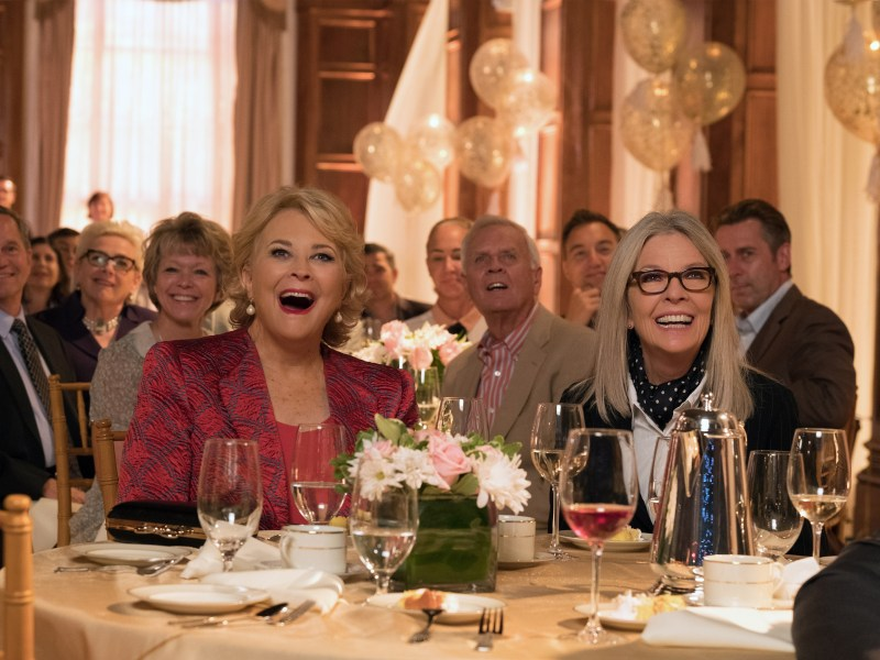 Candice Bergen, Diane Keaton in the film, BOOK CLUB, by Paramount Pictures.