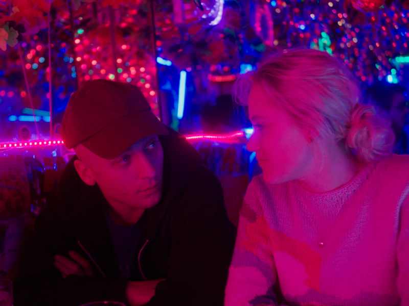 Maika Monroe and Jeremy Allen White in After Everything (formerly Shotgun).