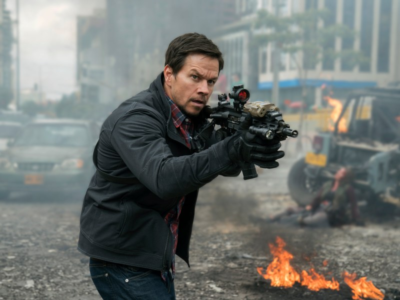 Mark Wahlberg stars in MILE 22.