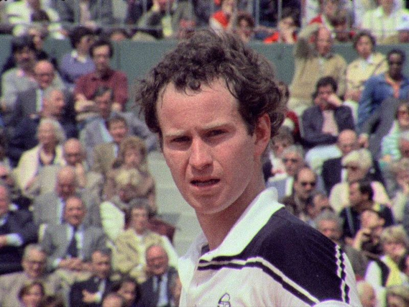 John McEnroe in John McEnroe: In the Realm of Perfection.