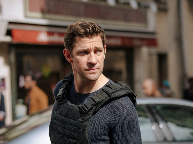 John Krasinski stars as Jack Ryan in Tom Clancy's Jack Ryan.