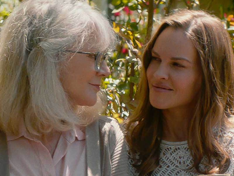 Blythe Danner and Hilary Swank star as Ruth and Bridget Keller in WHAT THEY HAD, a Bleecker Street release.