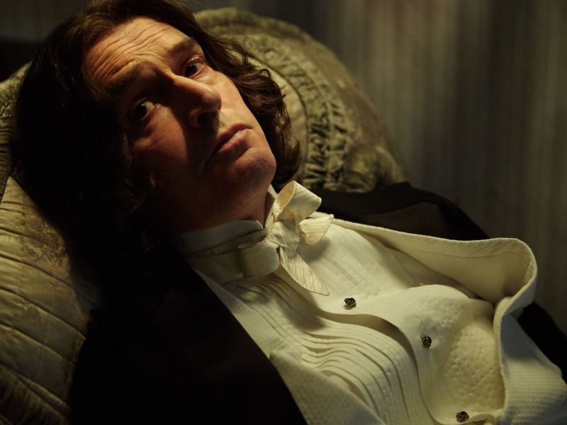 Rupert Everett as Oscar Wilde in The Happy Prince.