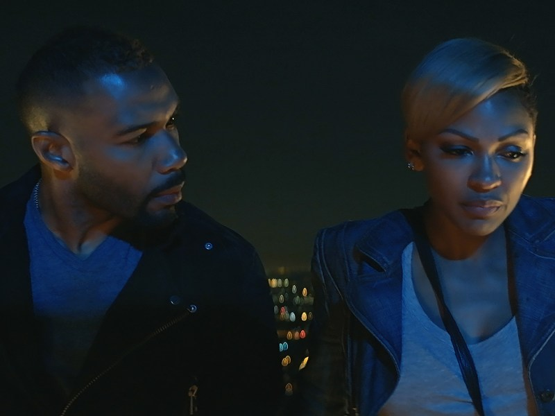 Omari Hardwick & Meagan Good in A Boy, A Girl, A Dream.