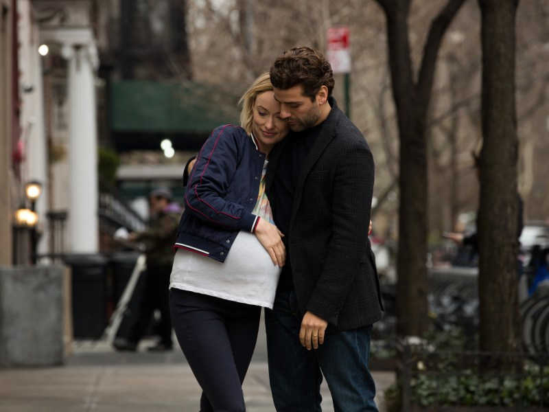 Olivia Wilde and Oscar Isaac in Life Itself.