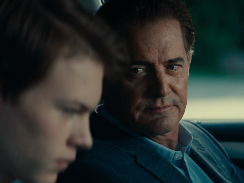 Josh Wiggins and Kyle MacLachlan in Giant Little Ones.