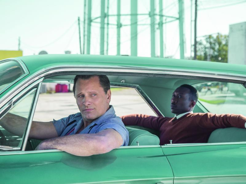 VIGGO MORTENSEN and MAHERSHALA ALI star in Participant Media and DreamWorks Pictures' Green Book.